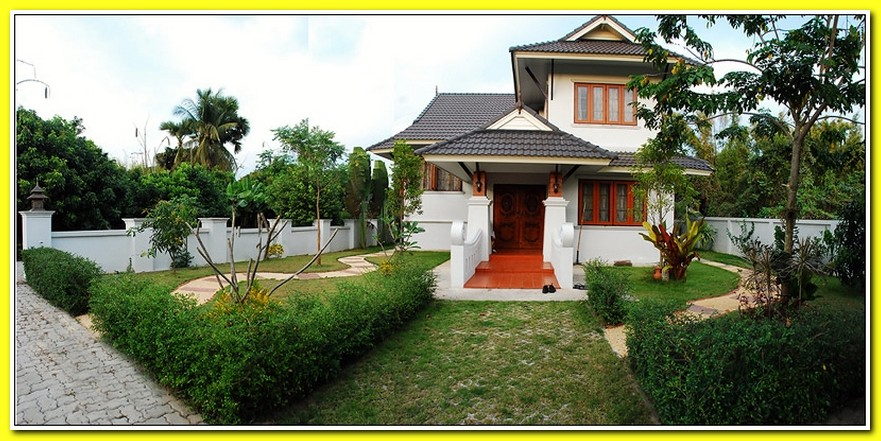 Thai style house picture